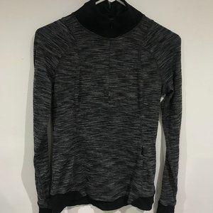 Lululemon Dark Heather Grey Half Zip Sweater